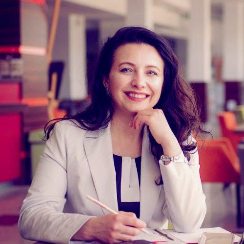 Beata Uberna-6 w pracy